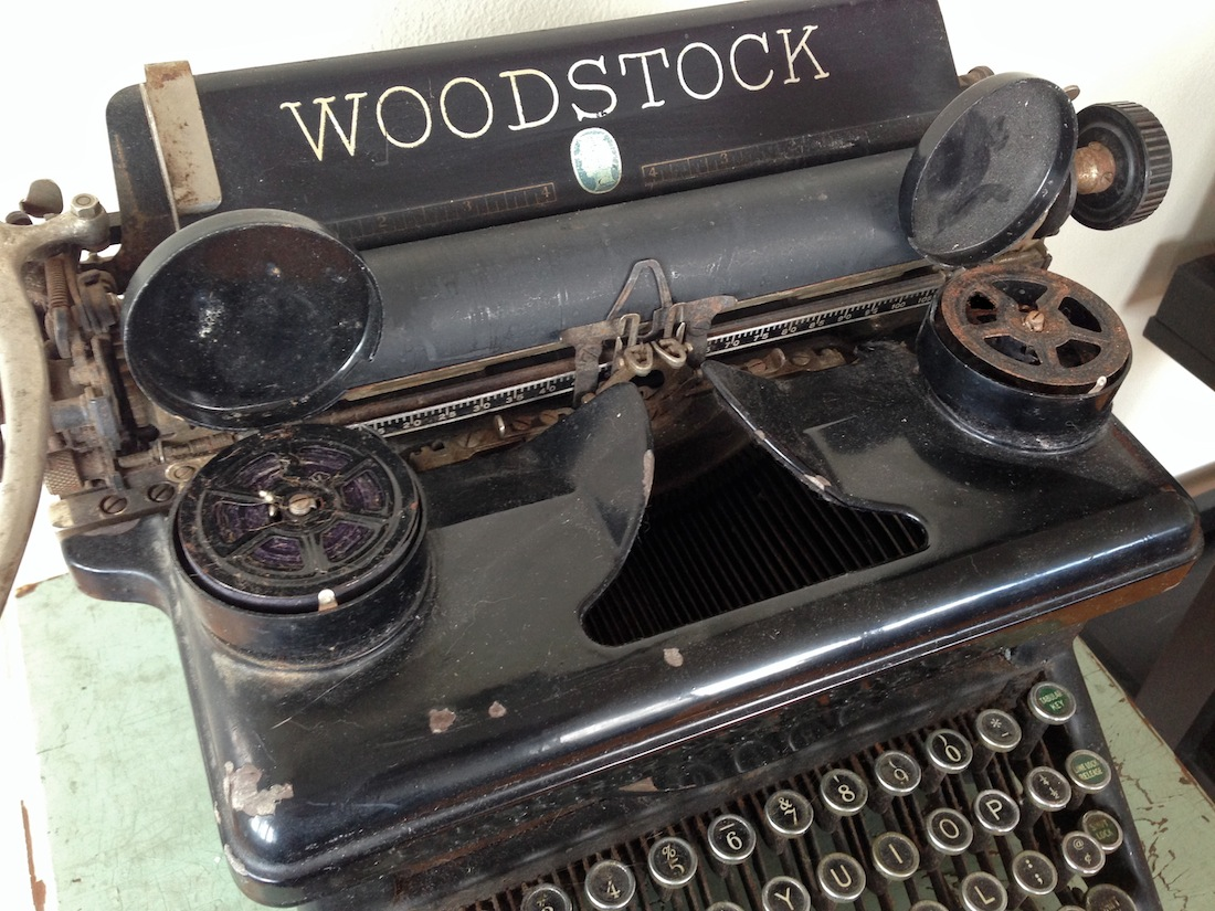 Woodstock Typewriter No. 5