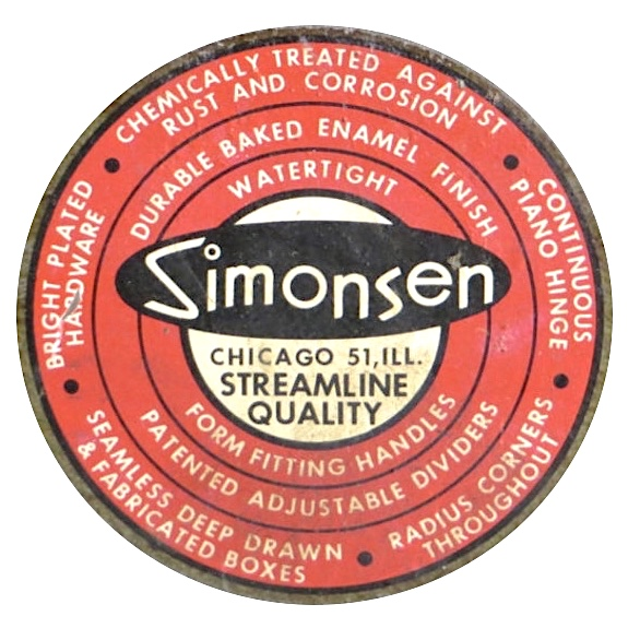 simonsen metal logo