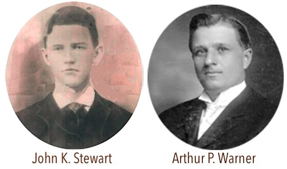 John K Stewart and A P Warner