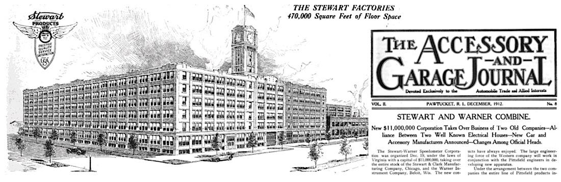 Stewart Warner merger