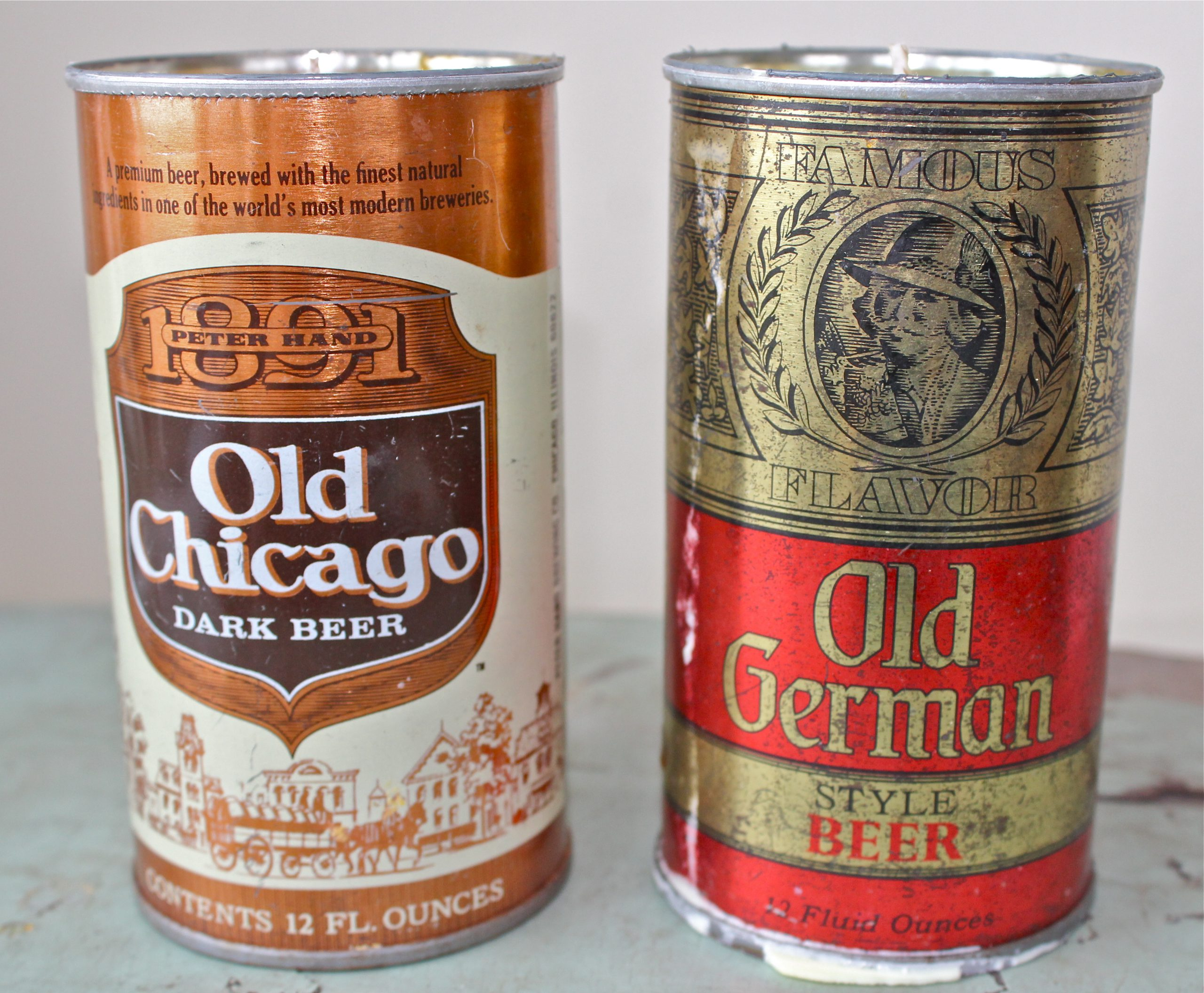 Peter Hand Old Chicago and Old German Beer