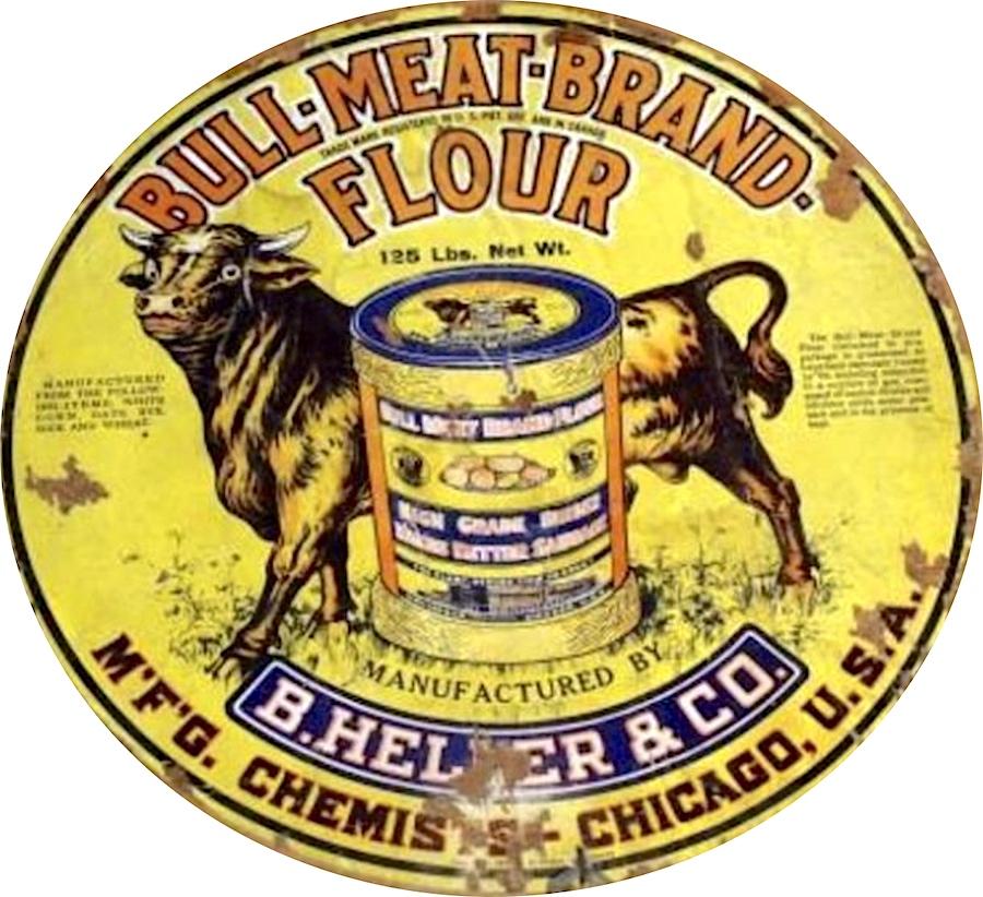 Bull Meat Brand Flour