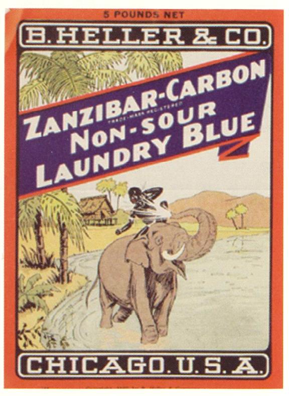 Zanzibar Carbon Laundry Blue