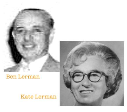 Ben Lerman and Kate Lerman