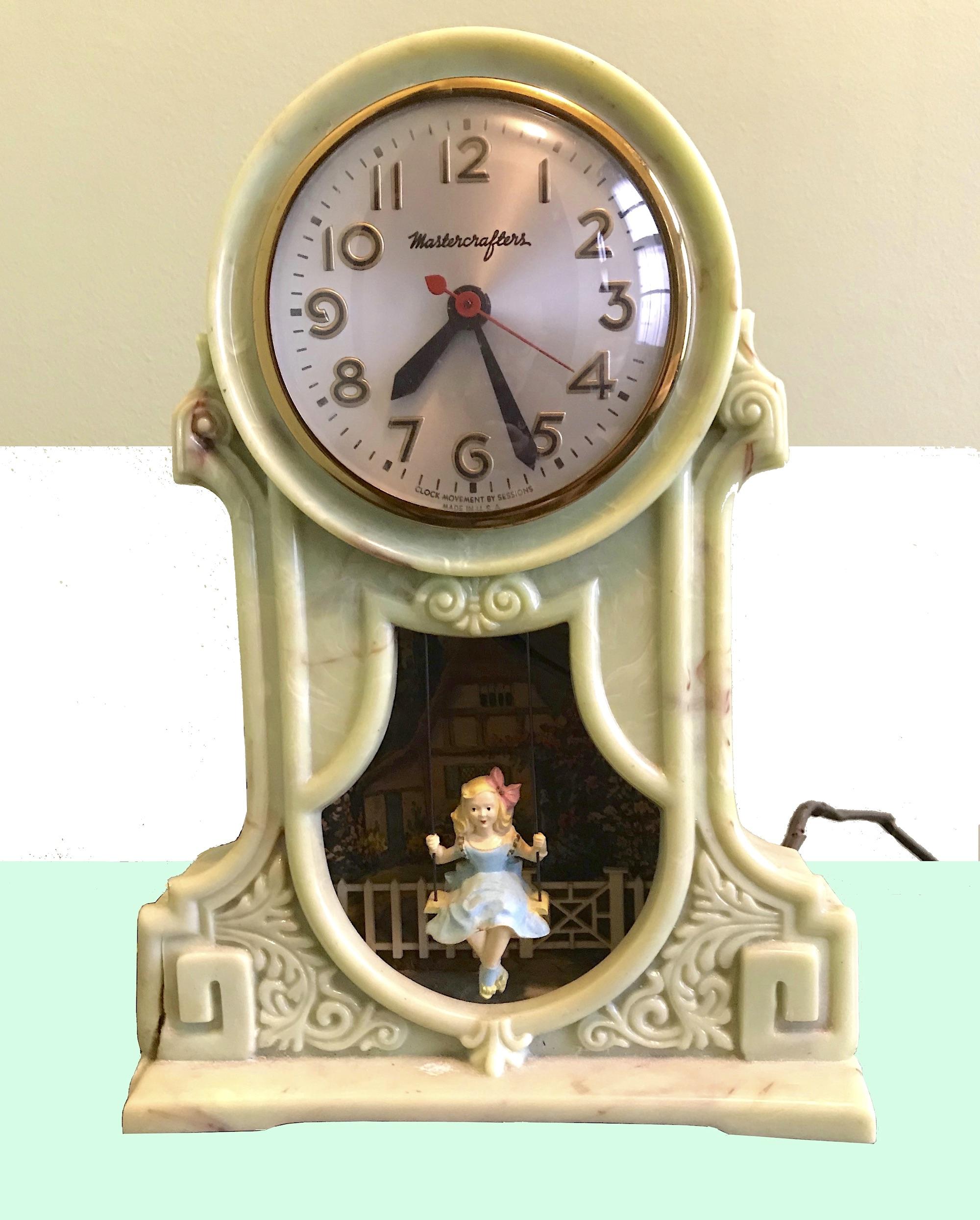 mastercrafters swingtime clock