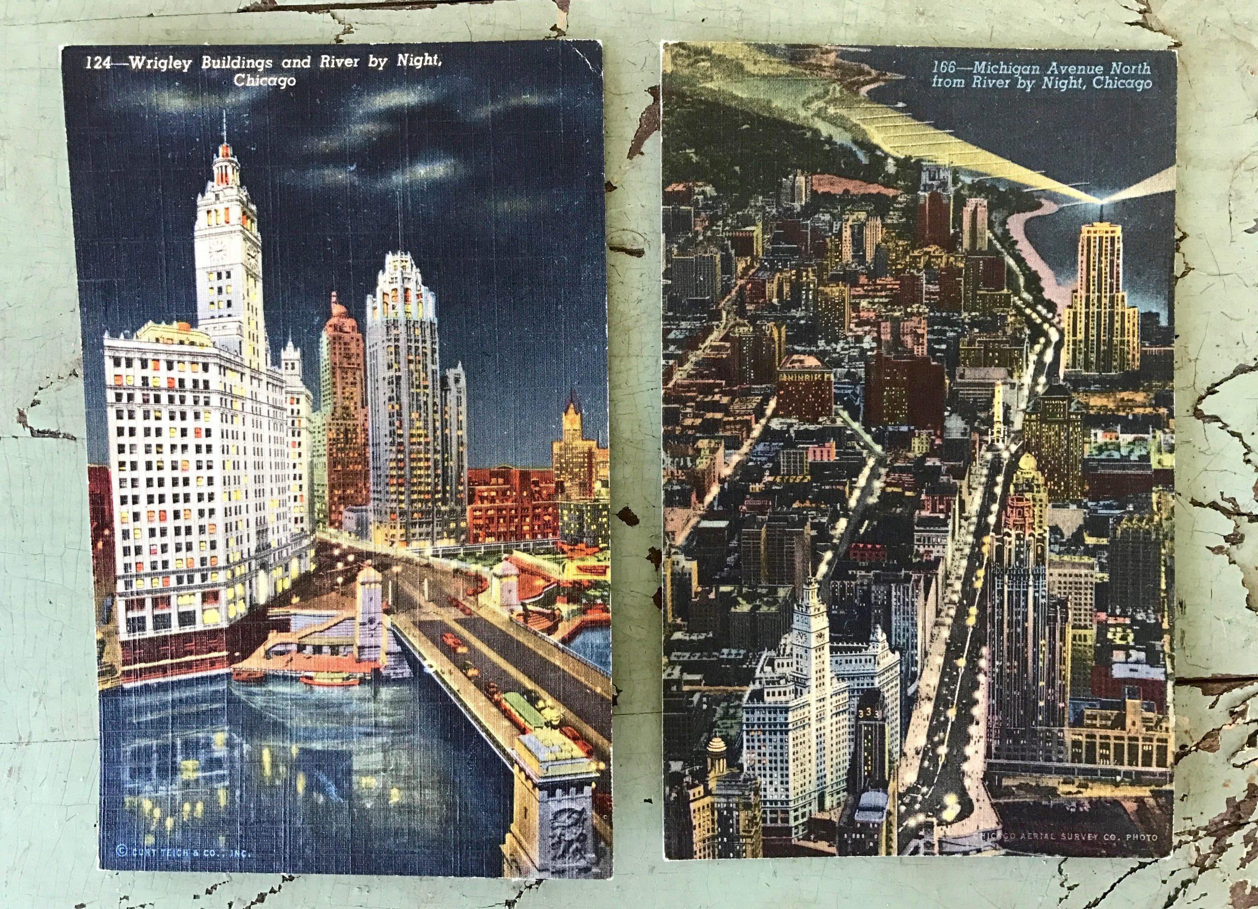 Curt Teich Colortone Postcards