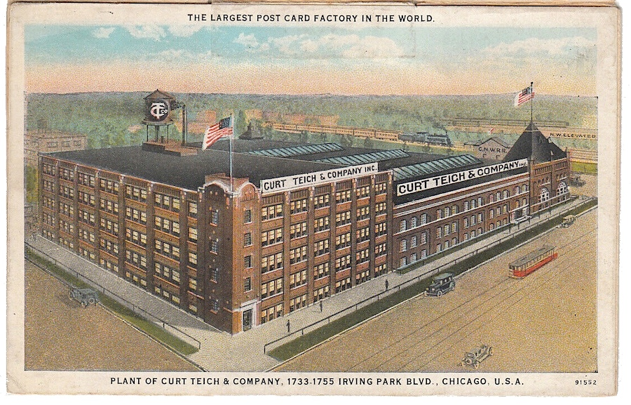 Curt Teich Factory Chicago