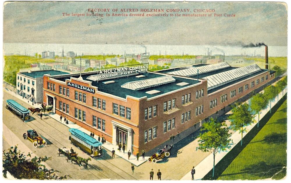 Alfred Holzman Postcard Factory