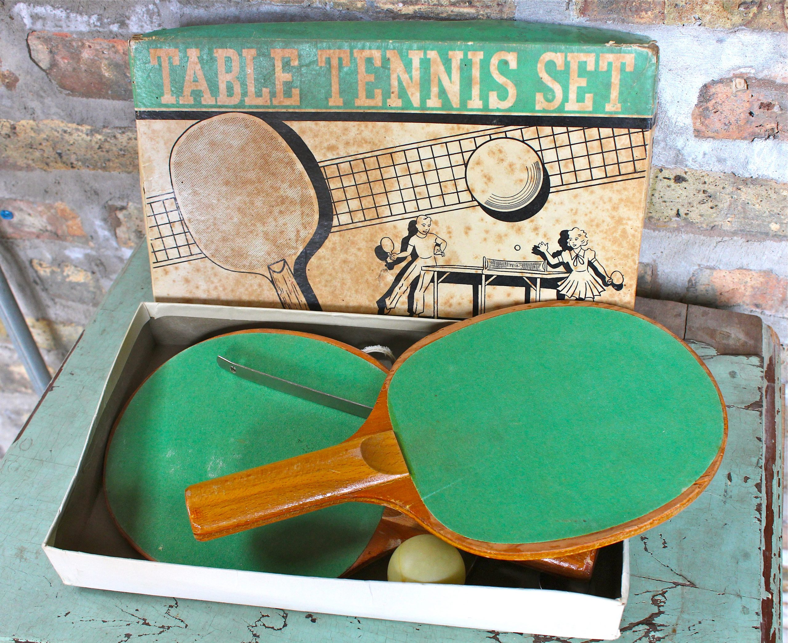Metal Moss Table Tennis