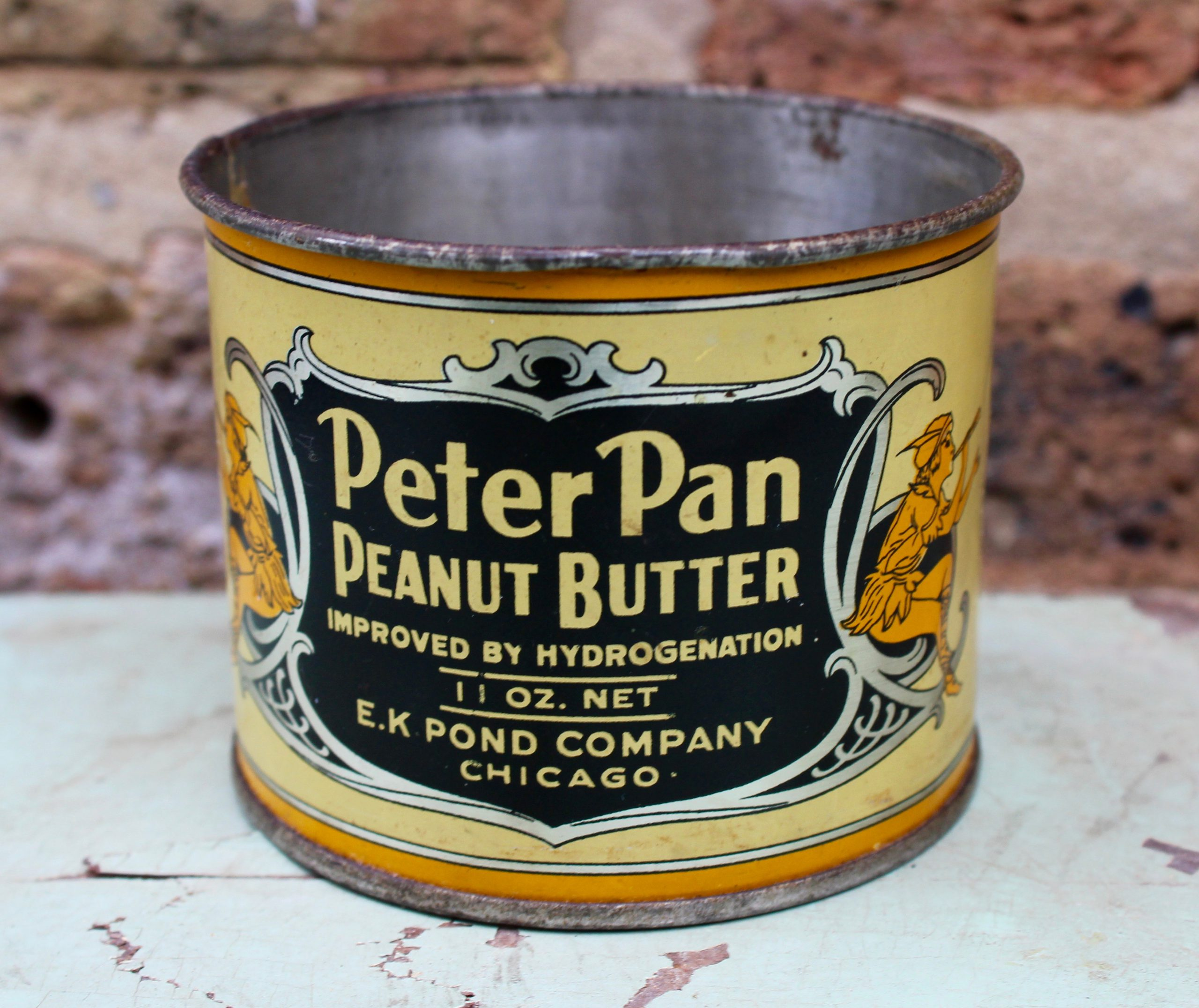 Peter Pan Peanut Butter History - E. K. Pond