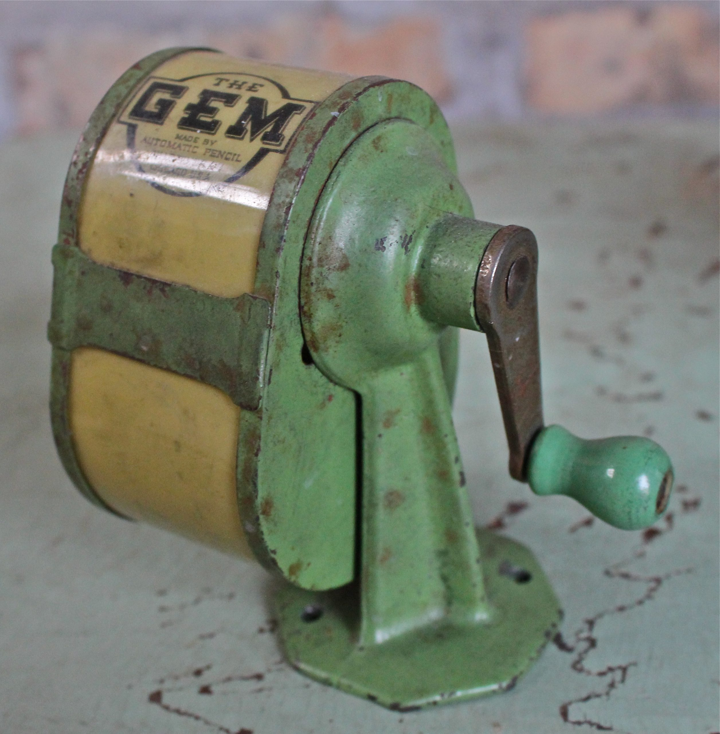 The Gem Pencil Sharpener