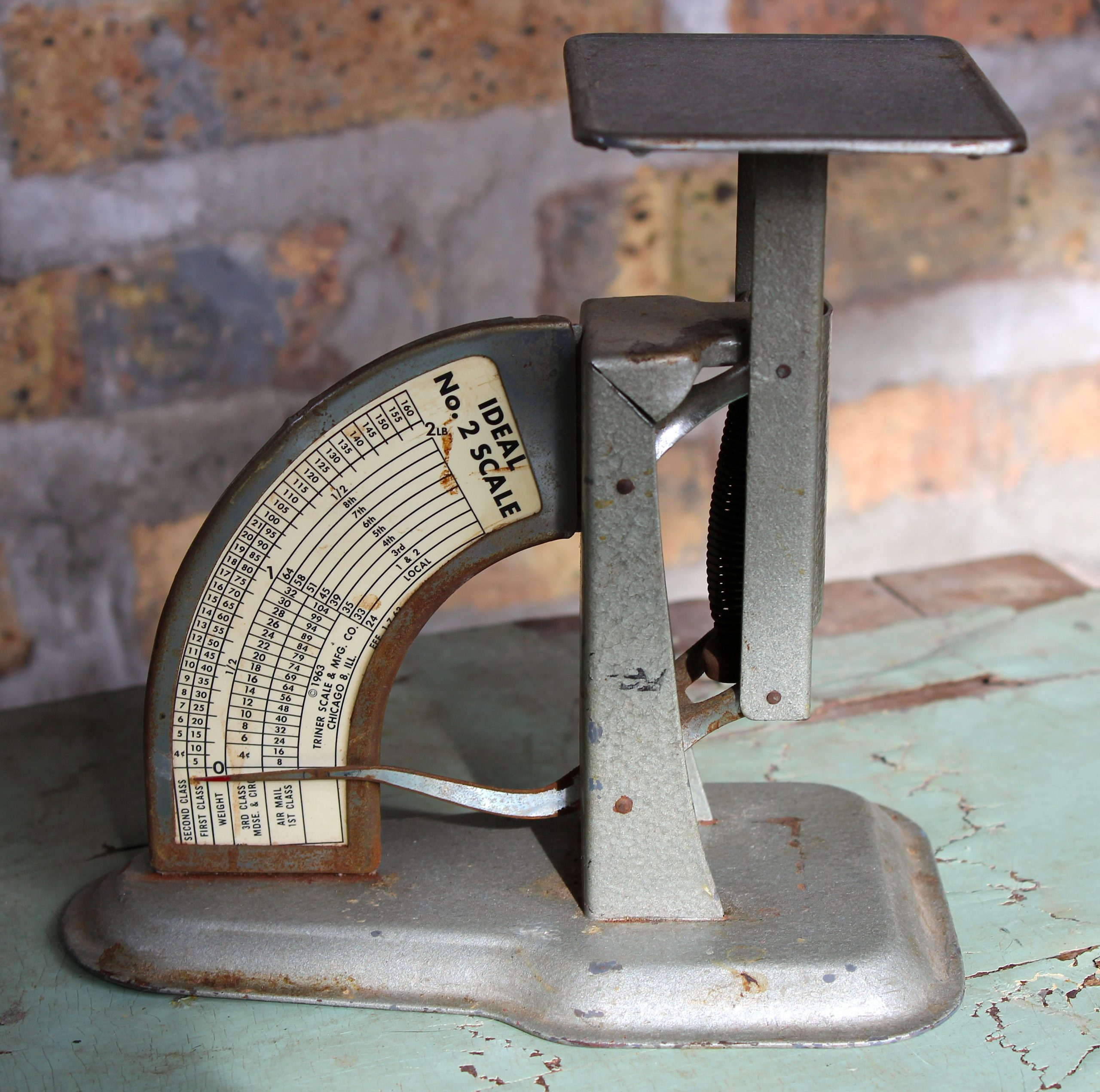 Ideal No. 2 Postal Scale by Triner Scale & MFG Co., 1963