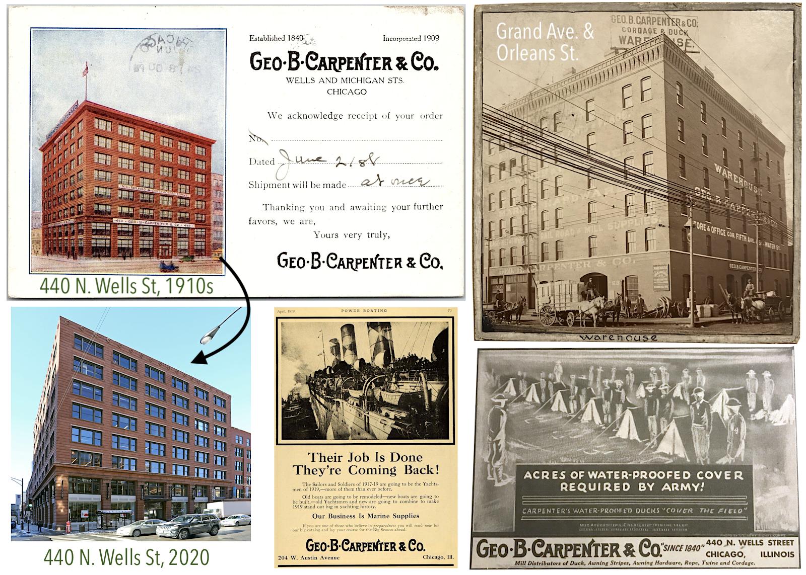 Geo B Carpenter 1910s
