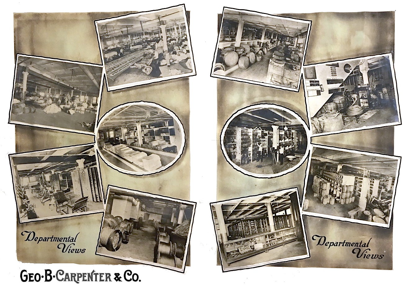 Geo B Carpenter factory