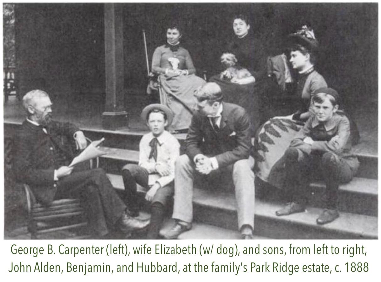Geo B Carpenter family