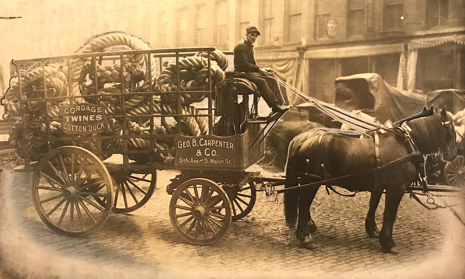 George B Carpenter wagon