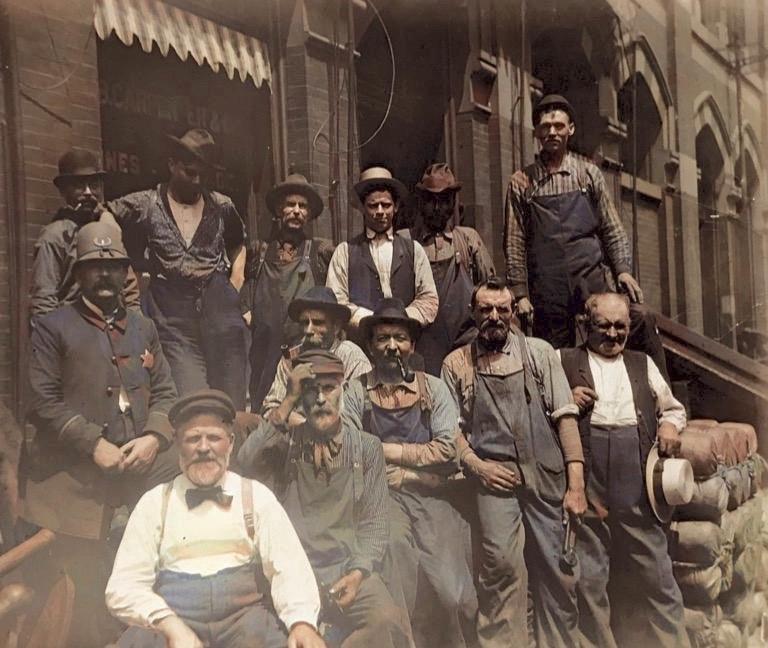 Geo B. Carpenter workers Chicago