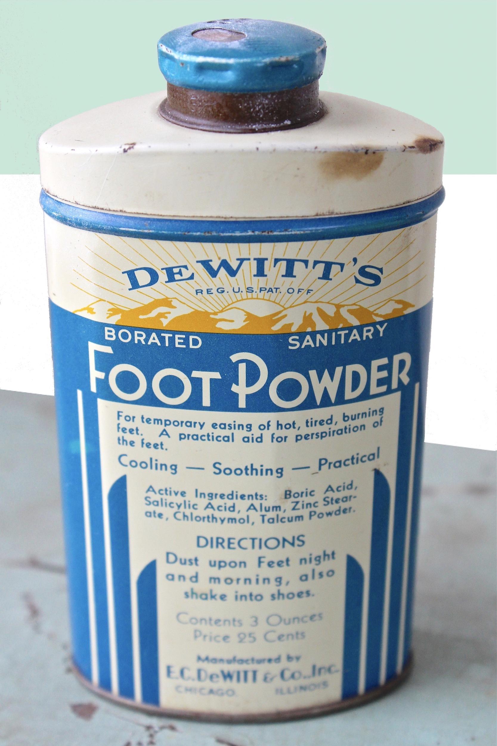 DeWitt's Foot Powder