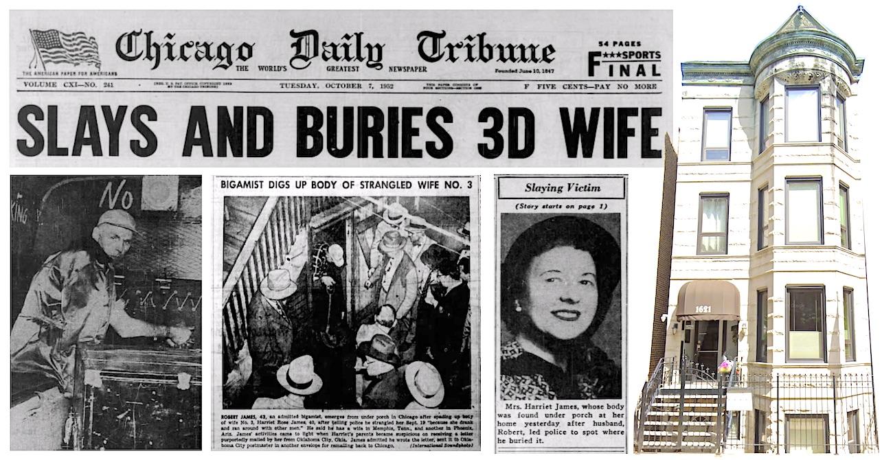 Harriet James murder 1952