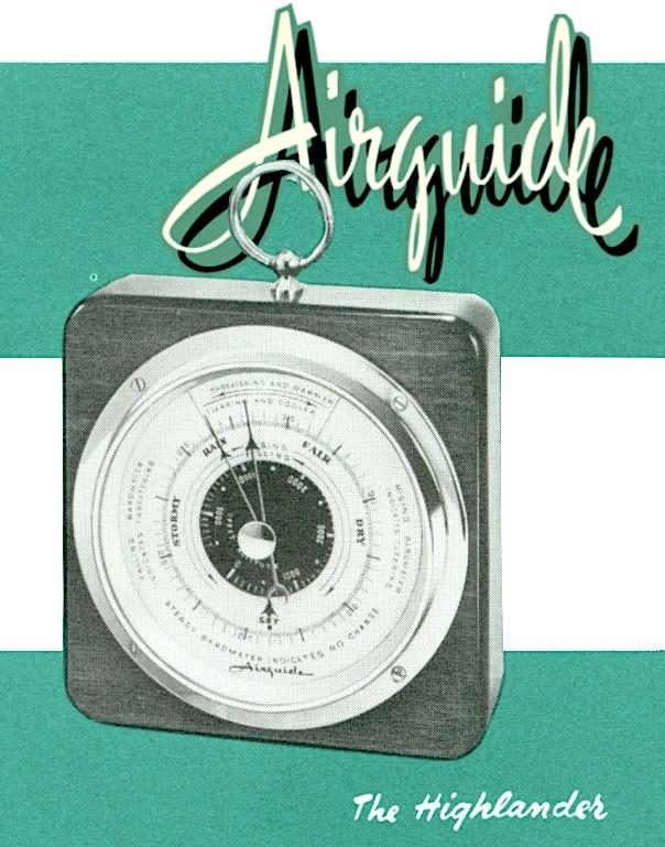 Airguide Highlander Barometer