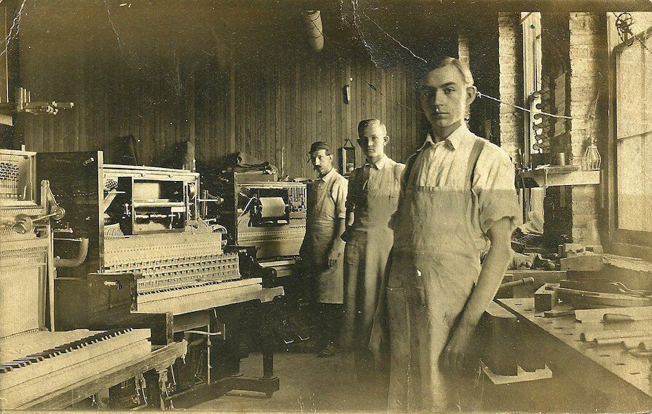 QRS factory workers