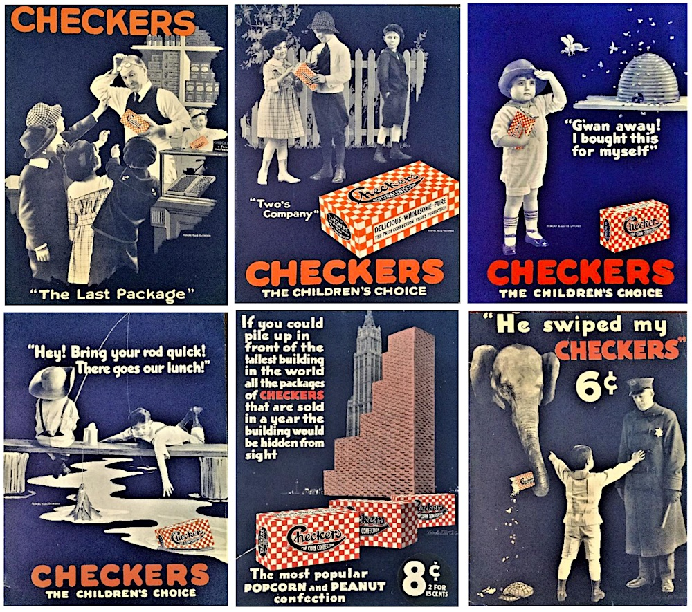 Shotwell Checkers ads