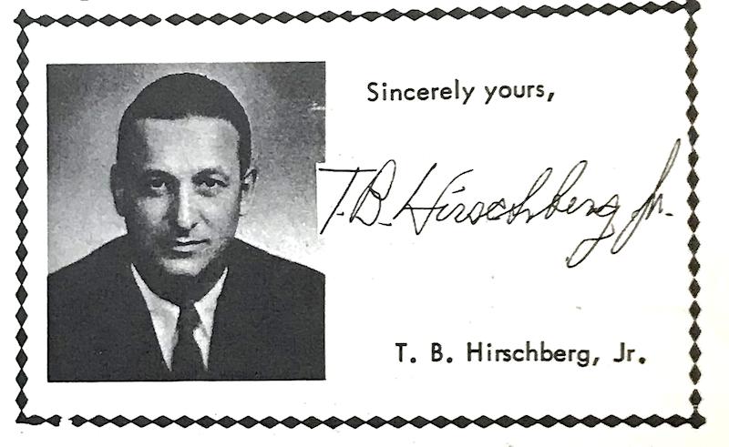 Ted Hirschberg Jr.