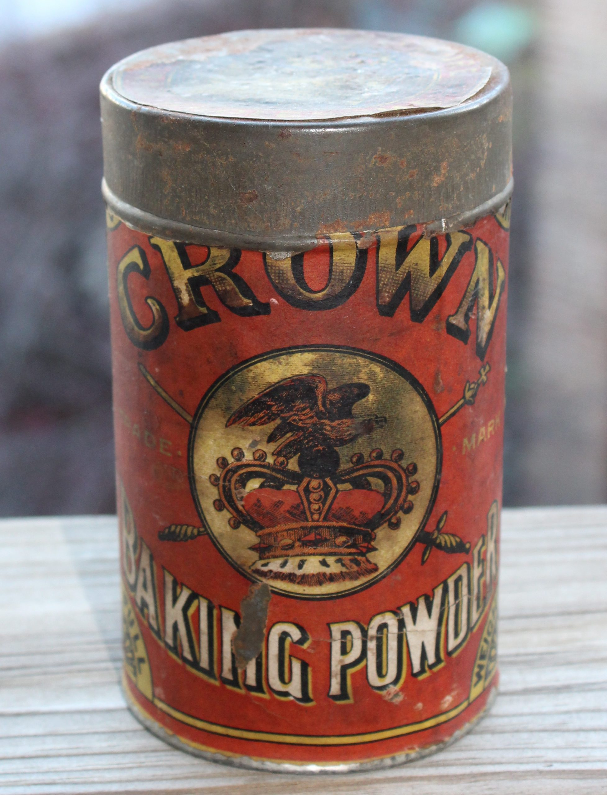 J. P. Dieter - Crown Baking Powder History