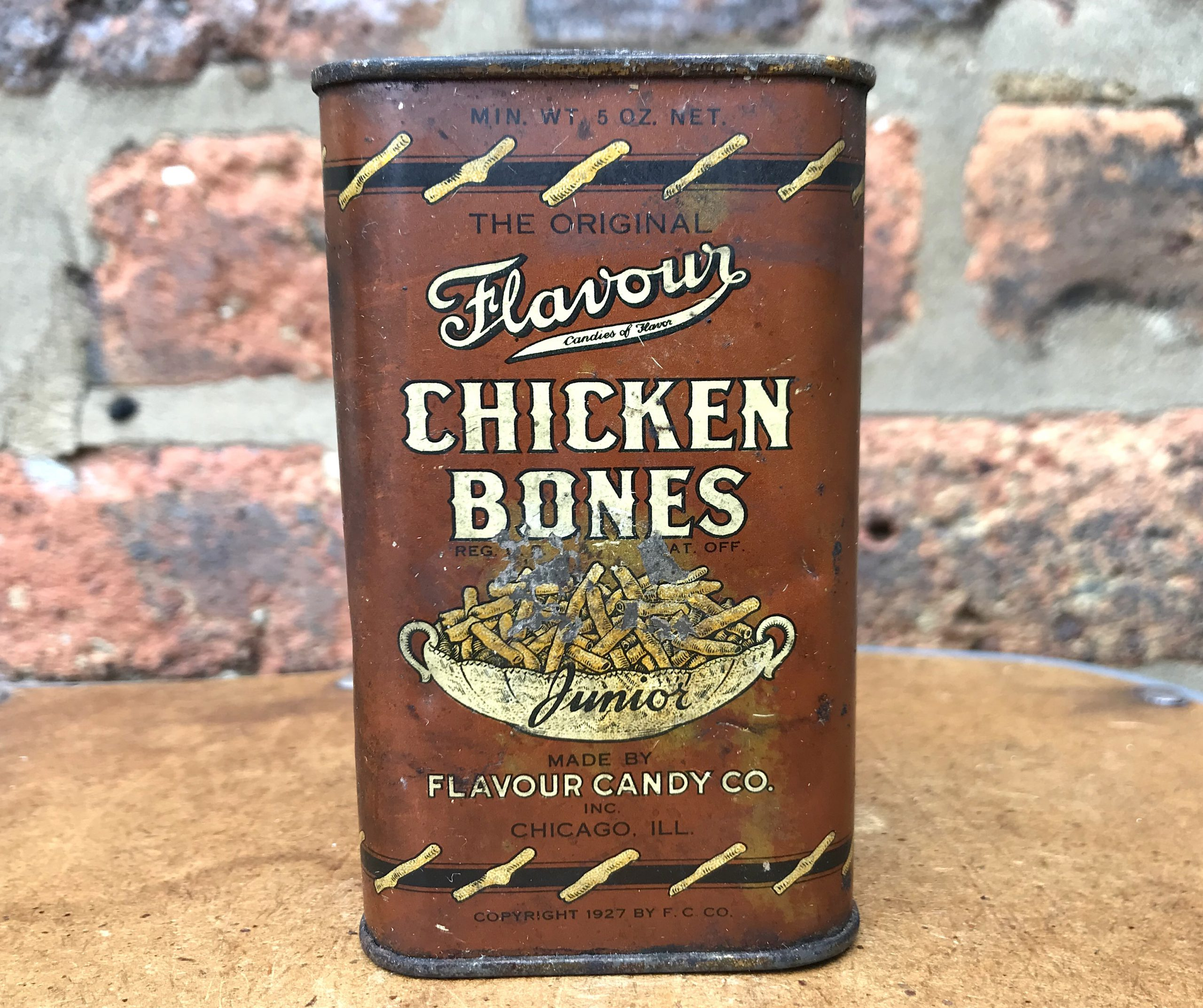 Flavour Candy Co. History - Chicken Bones