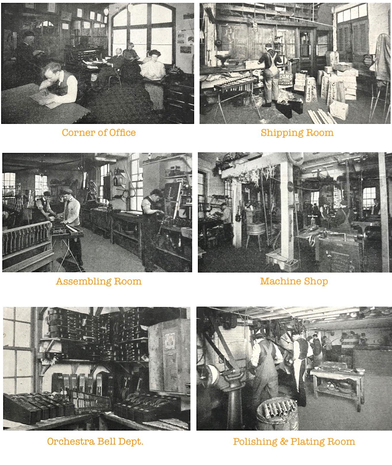 J. C. Deagan factory workers
