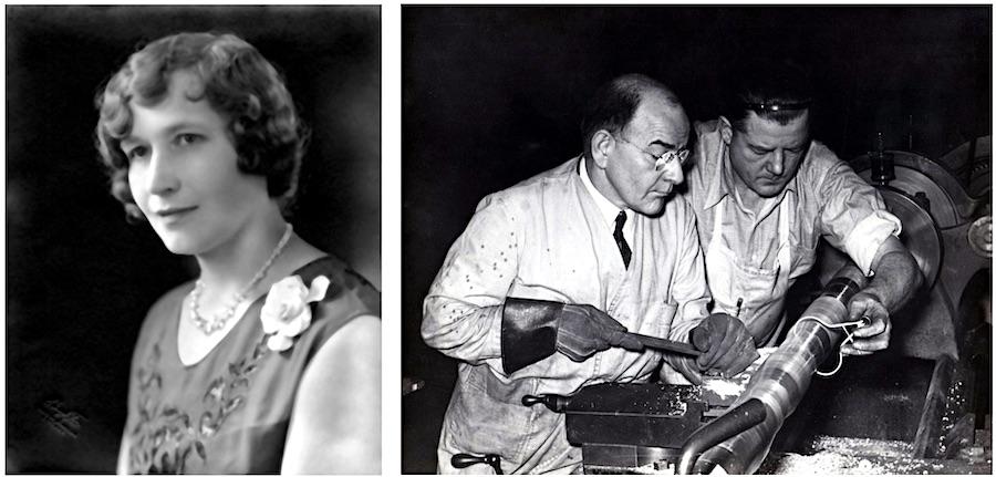 Ella Deagan and Henry Schluter