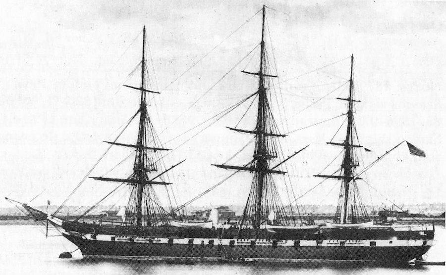 USS Brooklyn 1870s