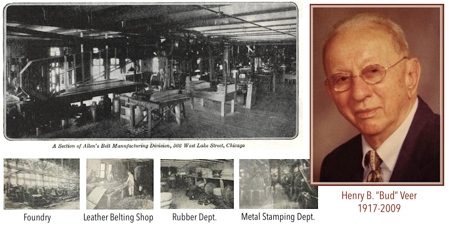 W. D. Allen Bud Veer factory