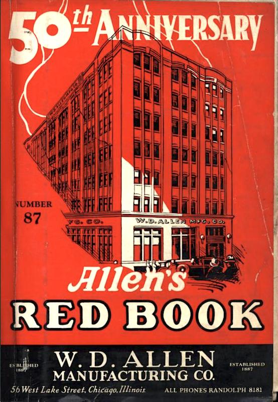Allen Red Book 1937