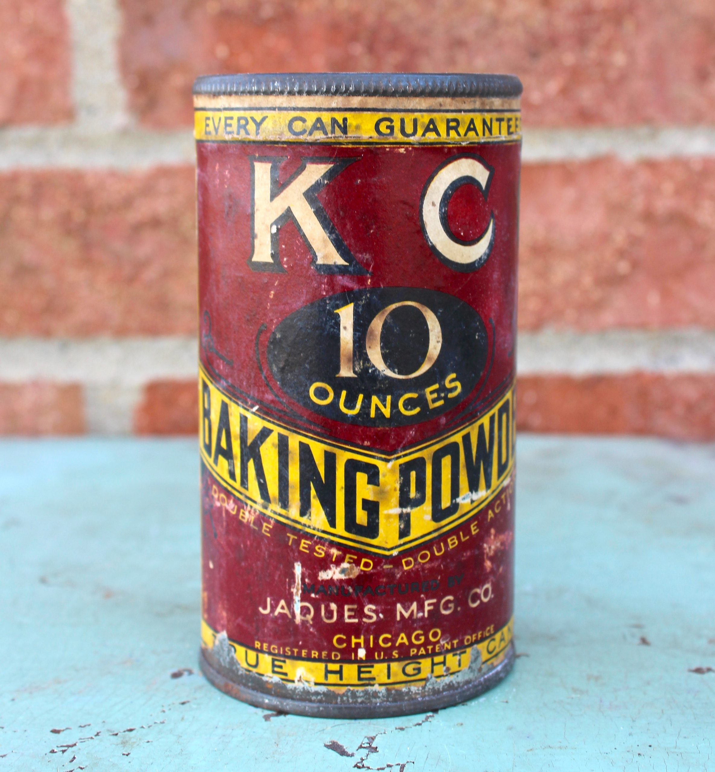 KC Baking Powder - Jaques MFG History