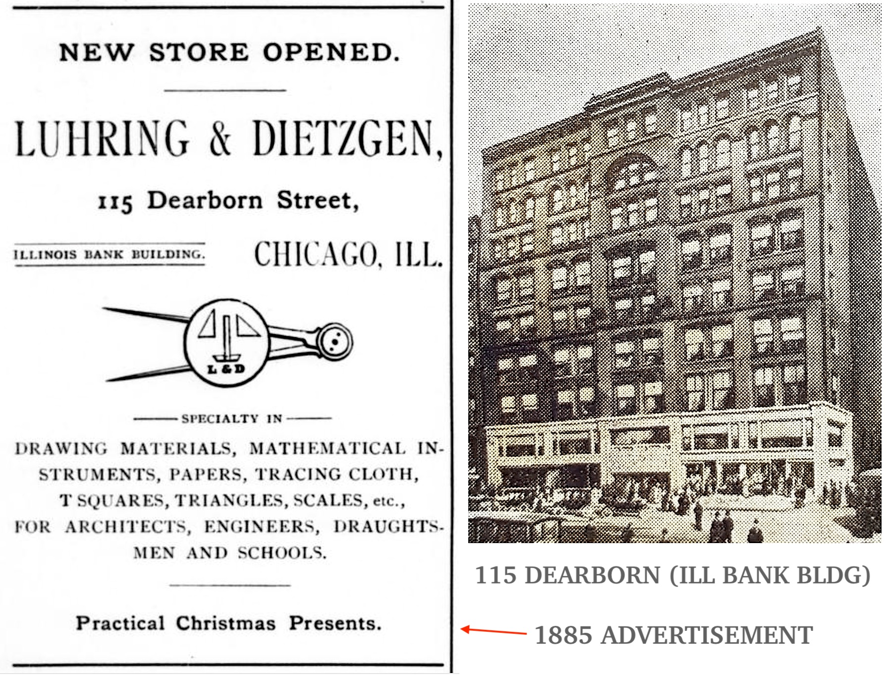Luhring & Dietzgen 1885