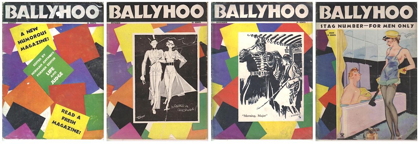 Ballyhoo magazine
