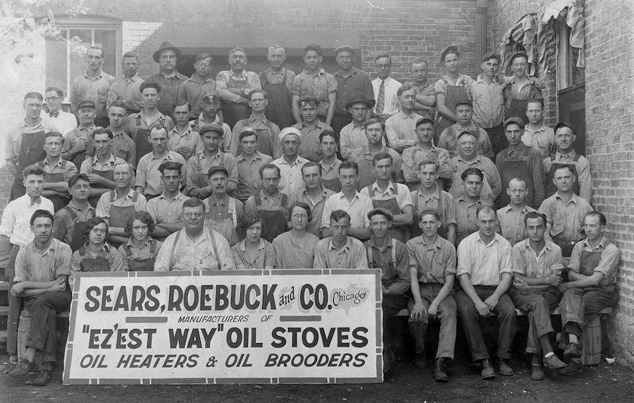 Sears factory workers Kankakee