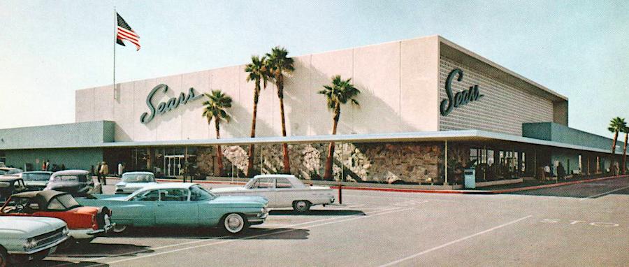 Sears Store Phoenix 1950s