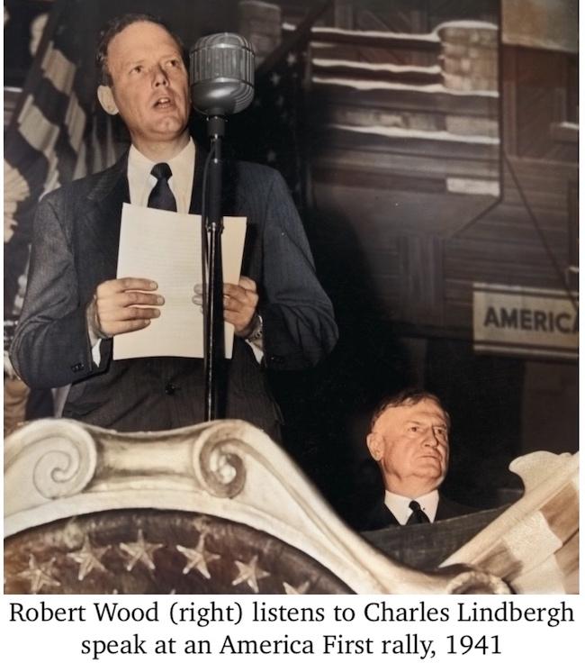 Robert Wood Lindbergh America First