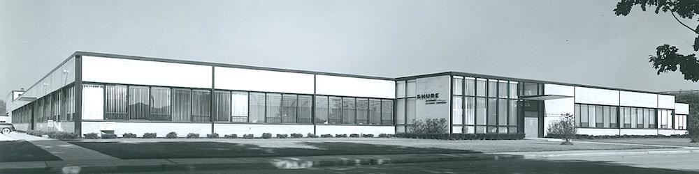 Shure Evanston plant