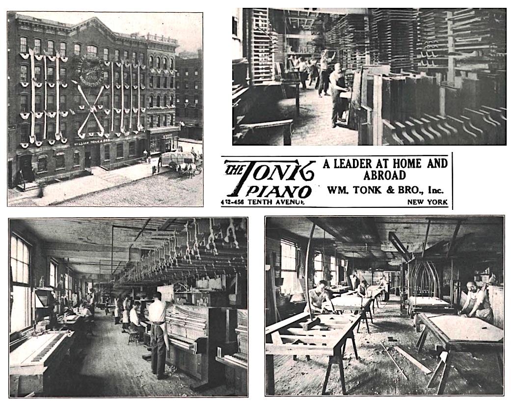 Wm. Tonk & Bro New York