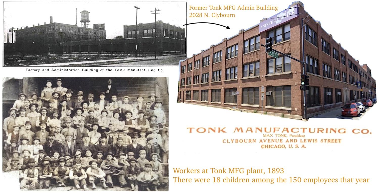 Tonk factory workers