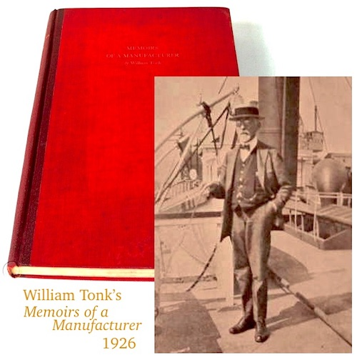 William Tonk memoirs