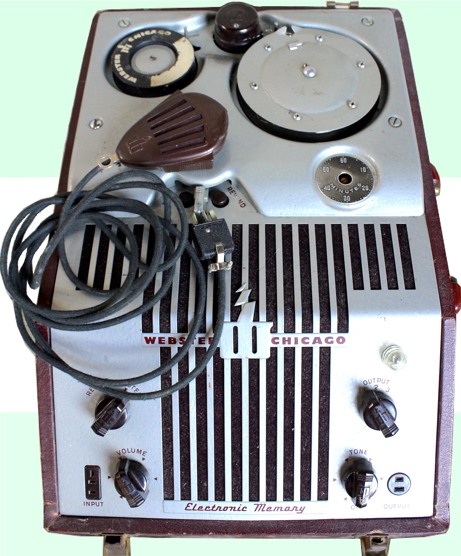 Webster Chicago Electronic Memory Wire Recorder 180