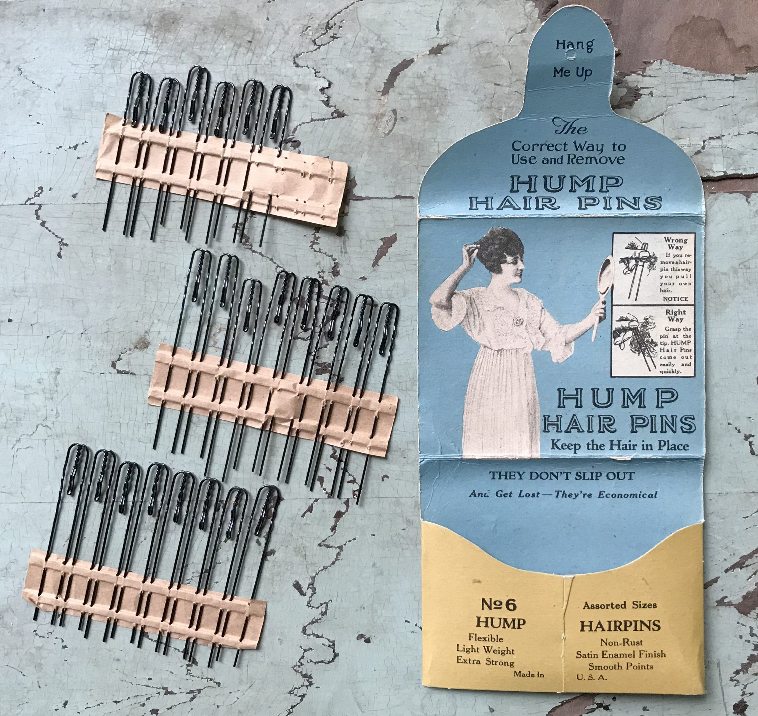 Hump Hair Pin History