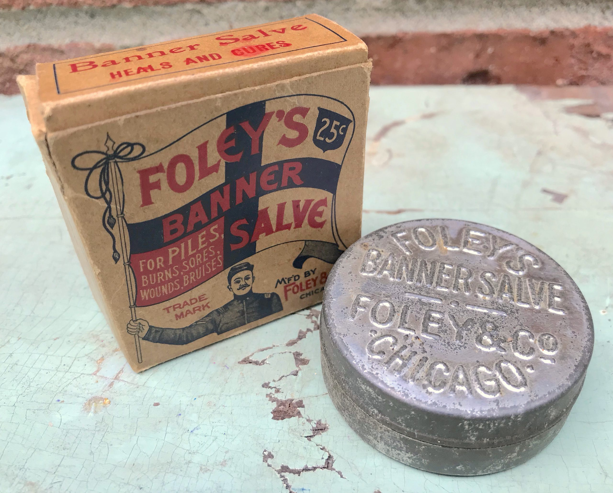 Foley & Co History - Foley's Banner Salve