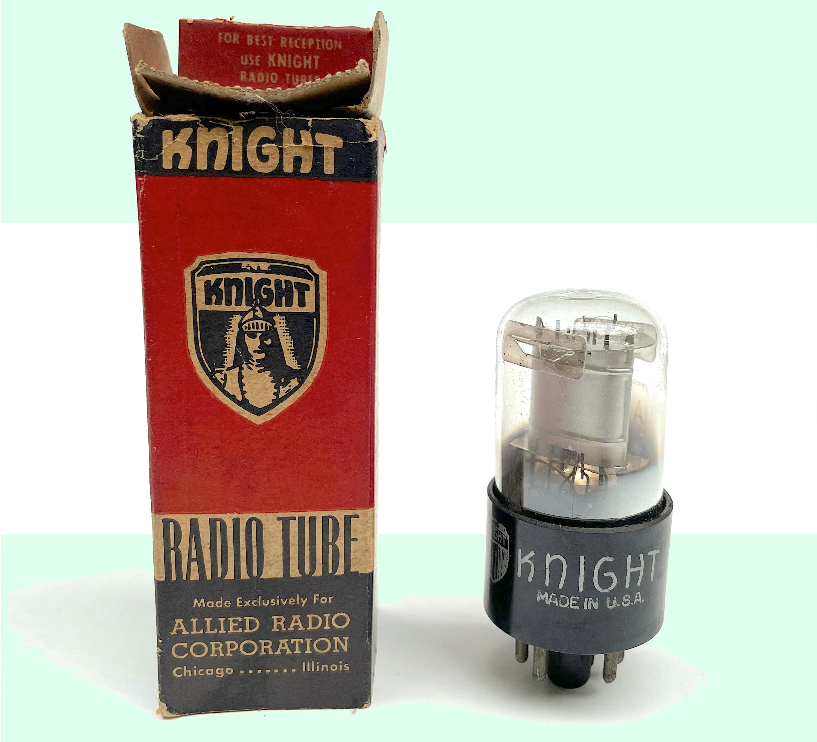 Allied Radio Knight history