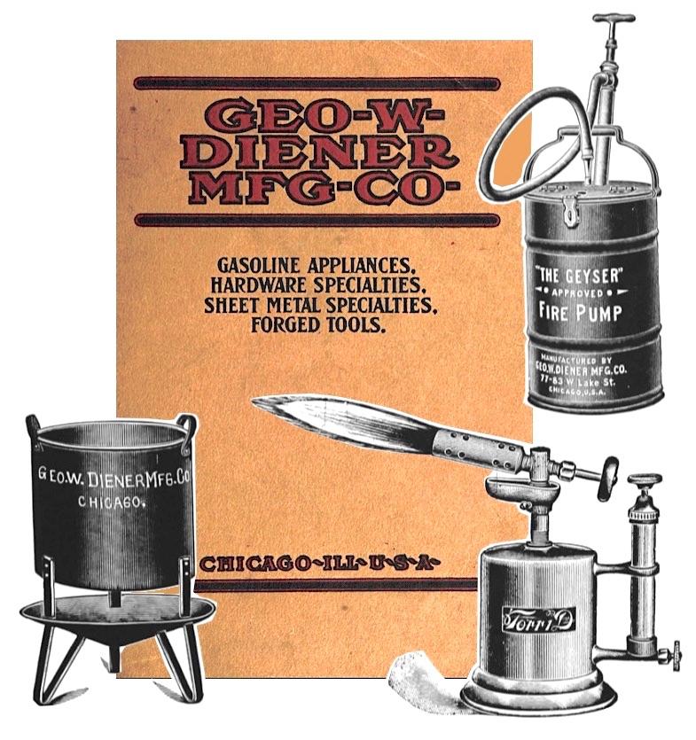Geo W Diener 1907 products