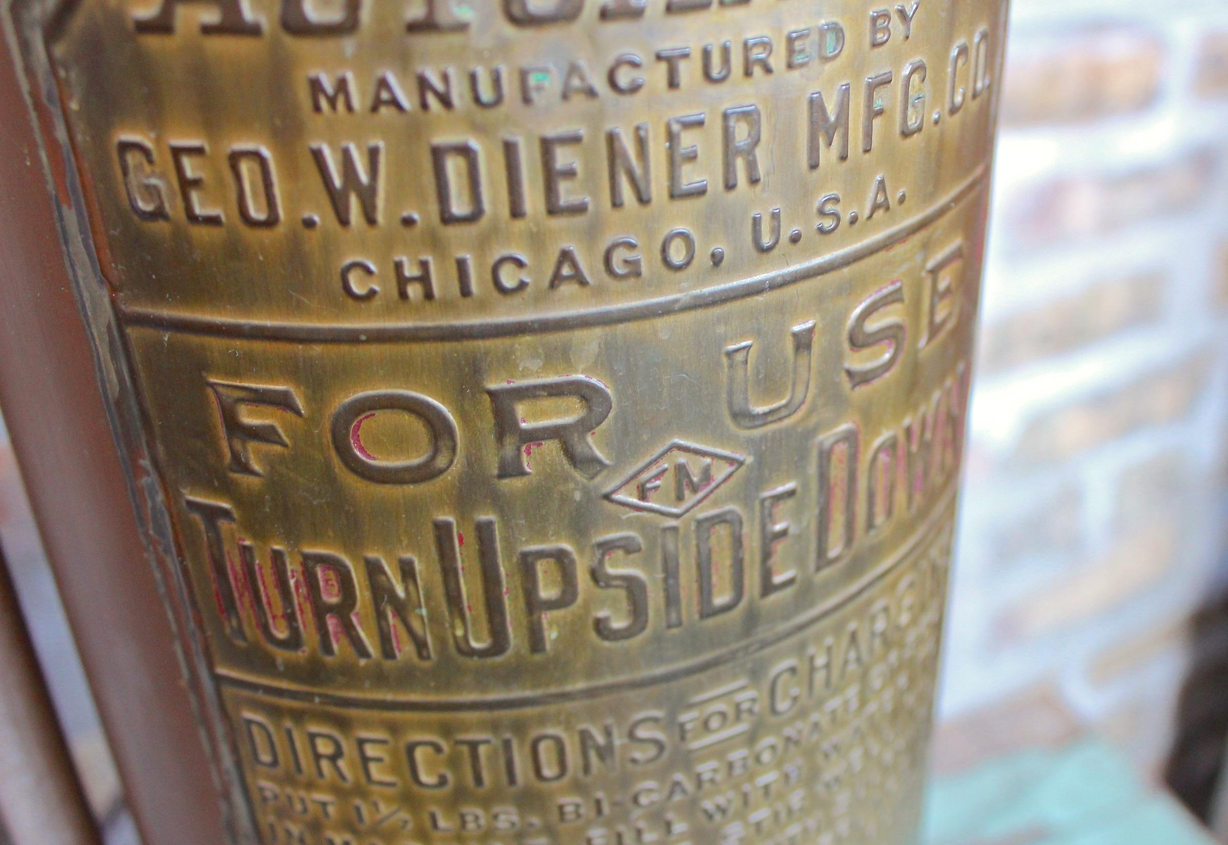 Diener automatic extinguisher